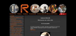 Conception de site à Rouen : Site d'art