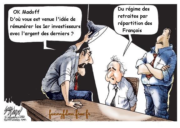 Madoff retraites francaises