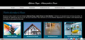 Conception de site à Rouen : Site de peinture