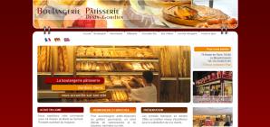 Conception de site à Rouen : Site d'une boulangerie