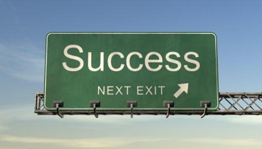 Route vers le succes